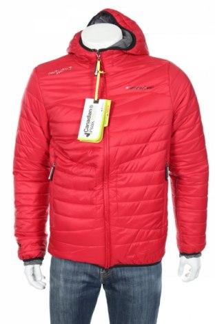 Pánska športová bunda  Canadian Peak 1953, Veľkosť XL, Farba Červená, Polyester, Cena  77,94€