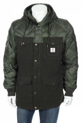 Pánska bunda  Franklin & Marshall, Veľkosť L, Farba Zelená, Vlna, polyester, Cena  77,94€