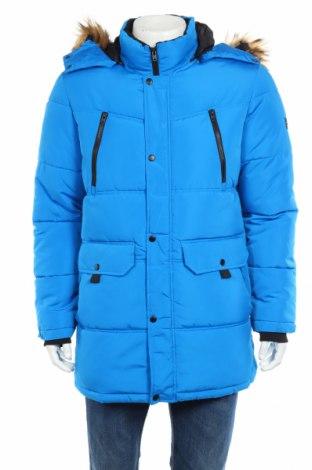 Pánska bunda  Jack & Jones, Veľkosť L, Farba Modrá, 100% polyester, Cena  61,44€