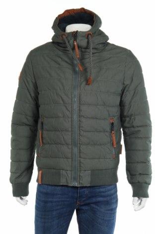 Pánska bunda  Naketano, Veľkosť L, Farba Zelená, 74% bavlna, 26% polyamide, Cena  119,18€