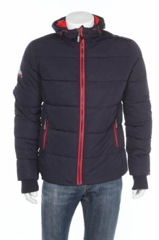 Pánska bunda  Superdry, Veľkosť M, Farba Modrá, Polyester, Cena  139,79€
