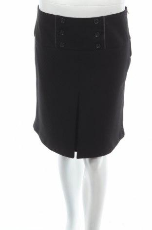 Пола Orsay, Размер S, Цвят Черен, 72% полиестер, 25% вискоза, 3% еластан, Цена 7,77лв.