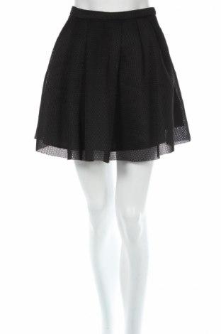 Φούστα Review, Μέγεθος XS, Χρώμα Μαύρο, Πολυεστέρας, Τιμή 7,42€