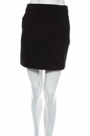Пола Vero Moda, Размер M, Цвят Черен, 90% полиестер, 10% еластан, Цена 13,00лв.