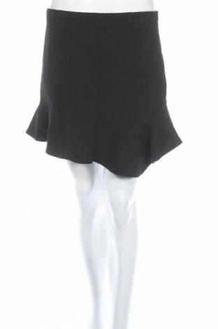 Пола Zara, Размер M, Цвят Черен, 49% полиестер, 48% вискоза, 3% еластан, Цена 8,00лв.