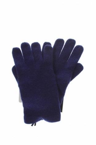 Rukavice  Un Deux Trois, Barva Modrá, 100% kašmír , Cena  837,00Kč