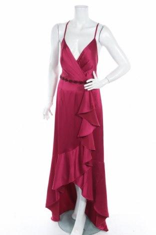 Рокля Adrianna Papell, Размер XL, Цвят Розов, Полиестер, Цена 38,40лв.