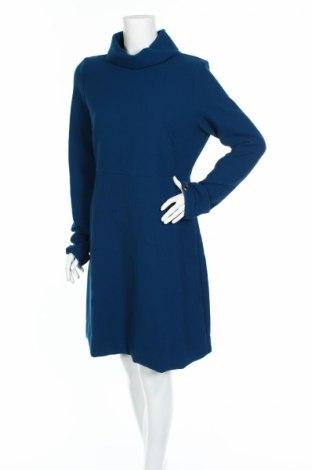 Φόρεμα Cop.copine, Μέγεθος L, Χρώμα Μπλέ, 64% πολυεστέρας, 32% βισκόζη, 4% ελαστάνη, Τιμή 32,09€