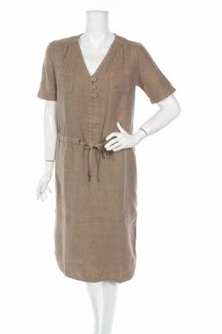 Φόρεμα Le Phare De La Baleine, Μέγεθος S, Χρώμα  Μπέζ, Λινό, Τιμή 38,35€