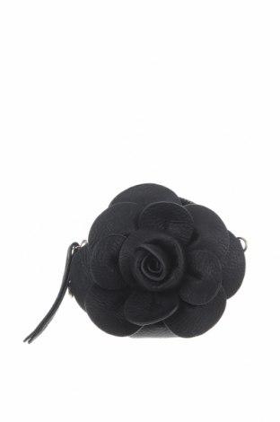 Чанта за кръст Hallhuber, Цвят Черен, Еко кожа, Цена 26,25лв.