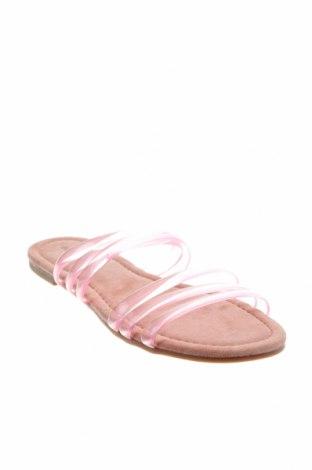 Чехли Glamorous, Размер 36, Цвят Розов, Полиуретан, Цена 20,67лв.