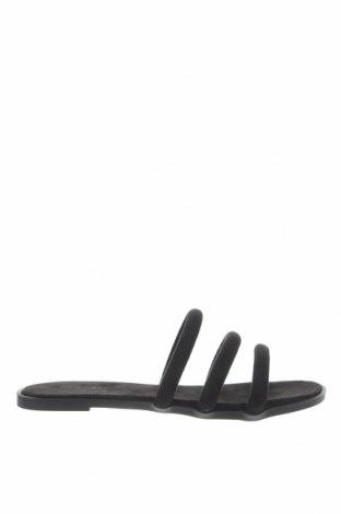 Чехли New Look, Размер 37, Цвят Черен, Текстил, Цена 19,50лв.