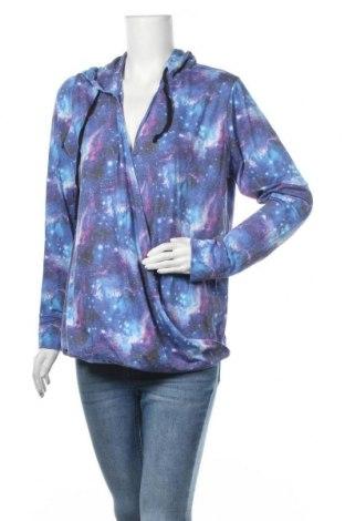 Дамска блуза, Размер XL, Цвят Многоцветен, 65% полиестер, 30% вискоза, 5% еластан, Цена 11,59лв.