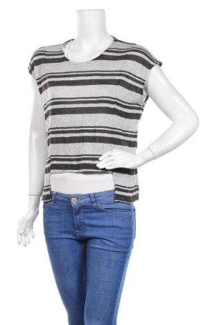 Γυναικεία μπλούζα Ambiance Apparel, Μέγεθος S, Χρώμα Γκρί, 60% βισκόζη, 36% πολυεστέρας, 4% λινό, Τιμή 3,41€
