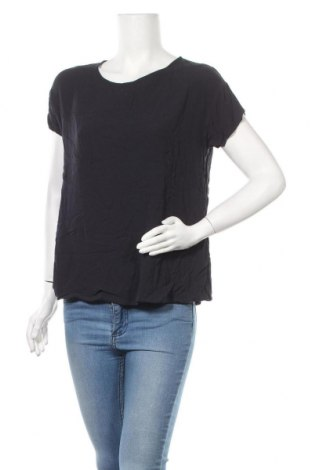 Дамска блуза American Vintage, Размер L, Цвят Син, 100% вискоза, Цена 21,42лв.