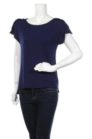 Дамска блуза Broadway, Размер M, Цвят Син, 95% вискоза, 5% еластан, Цена 17,60лв.