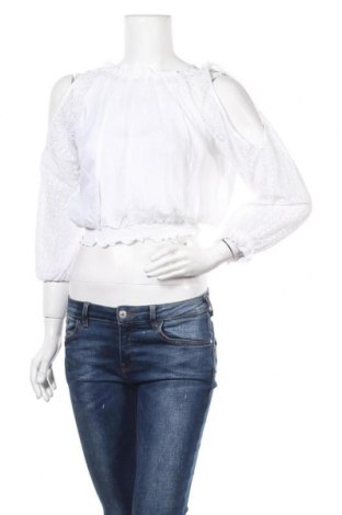 Γυναικεία μπλούζα F**k, Μέγεθος M, Χρώμα Λευκό, Πολυεστέρας, Τιμή 7,60€