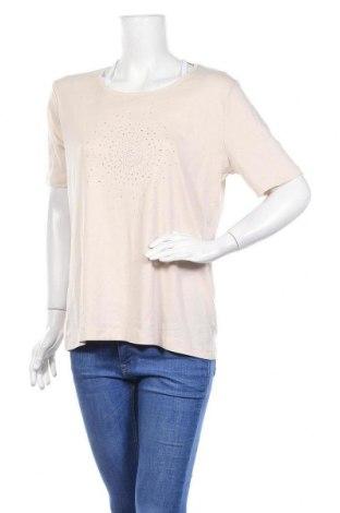 Γυναικεία μπλούζα Fabiani, Μέγεθος XL, Χρώμα  Μπέζ, Βαμβάκι, Τιμή 6,43€