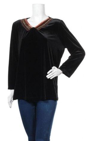 Γυναικεία μπλούζα Gitti, Μέγεθος L, Χρώμα Μαύρο, Πολυεστέρας, Τιμή 5,06€