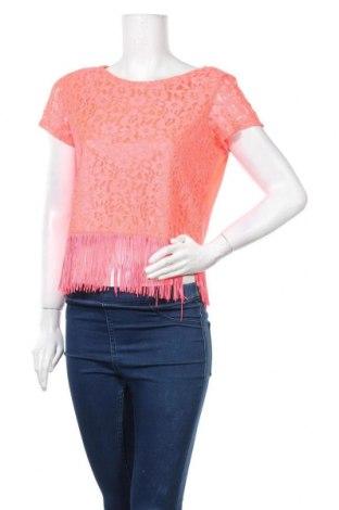 Γυναικεία μπλούζα H&M Divided, Μέγεθος M, Χρώμα Πορτοκαλί, 97% πολυεστέρας, 3% ελαστάνη, Τιμή 2,76€