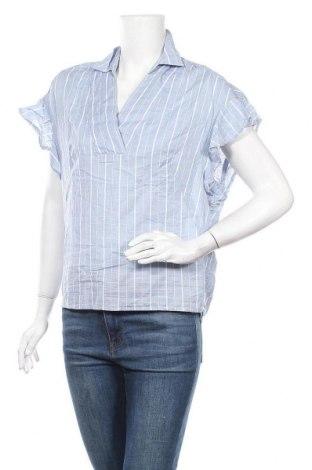 Дамска блуза H&M L.O.G.G., Размер XXS, Цвят Син, Цена 10,71лв.