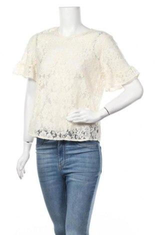 Дамска блуза H&M L.O.G.G., Размер L, Цвят Екрю, 64% памук, 36% полиестер, Цена 9,45лв.