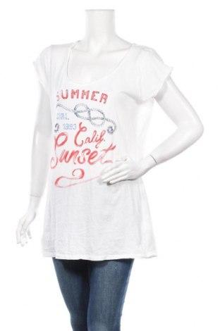 Γυναικείο t-shirt H&M L.O.G.G., Μέγεθος XL, Χρώμα Λευκό, Βαμβάκι, Τιμή 9,25€
