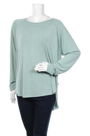 Дамска блуза Herrlicher, Размер XL, Цвят Зелен, 67% модал, 33% полиестер, Цена 32,13лв.
