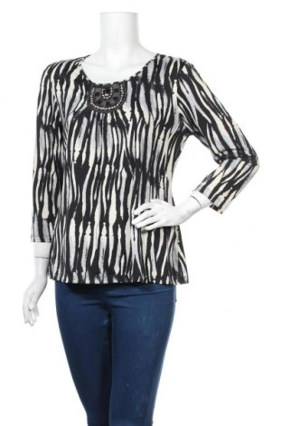 Дамска блуза Jaclyn Smith, Размер L, Цвят Многоцветен, 95% полиестер, 5% еластан, Цена 8,93лв.