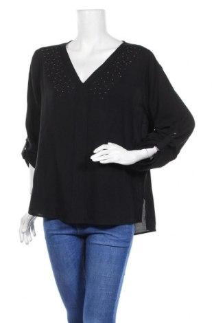 Дамска блуза Jones, Размер L, Цвят Черен, Вискоза, Цена 17,68лв.