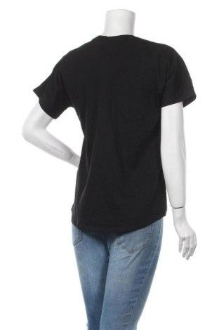 Дамска тениска Massimo Dutti, Размер S, Цвят Черен, Памук, Цена 14,75лв.