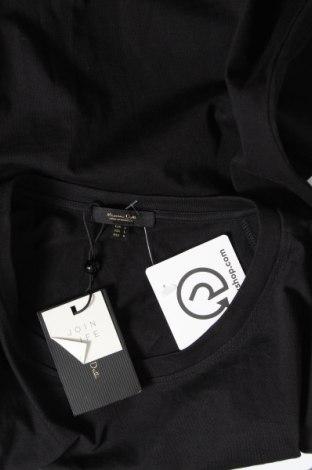 Дамска тениска Massimo Dutti, Размер L, Цвят Черен, Памук, Цена 14,75лв.