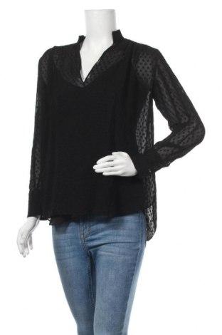 Дамска блуза Massimo Dutti, Размер M, Цвят Черен, Полиестер, Цена 15,80лв.