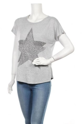 Дамска блуза Miss Charm, Размер M, Цвят Сив, 65% памук, 35% полиестер, Цена 11,76лв.