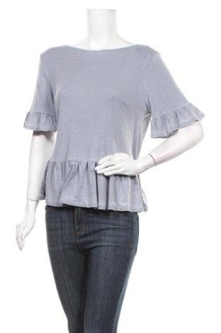 Дамска блуза NYTT, Размер M, Цвят Сив, 50% полиестер, 50% памук, Цена 9,75лв.