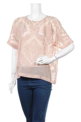Дамска блуза Luxzuz One Two, Размер M, Цвят Бежов, 40% вискоза, 60% полиестер, Цена 15,12лв.
