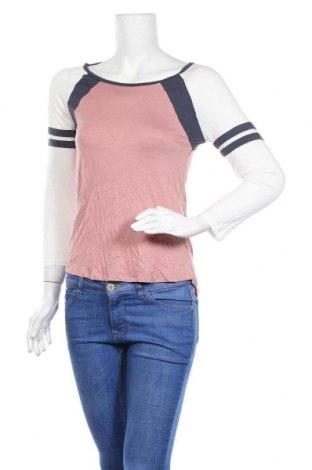 Γυναικεία μπλούζα Pink Rose, Μέγεθος S, Χρώμα Πολύχρωμο, 95% βισκόζη, 5% ελαστάνη, Τιμή 8,18€