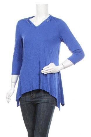 Дамска блуза Premise, Размер M, Цвят Син, 95% вискоза, 5% еластан, Цена 8,98лв.