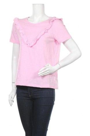 Дамска блуза Project Unknown, Размер M, Цвят Розов, Памук, Цена 11,22лв.