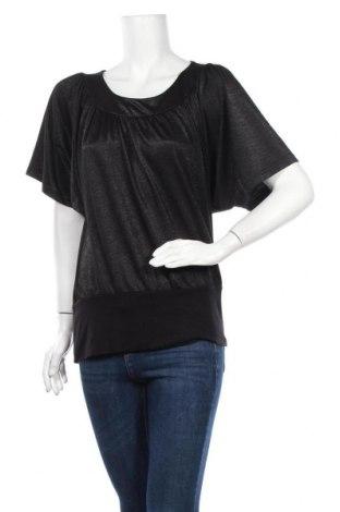 Γυναικεία μπλούζα Soya Concept, Μέγεθος L, Χρώμα Μαύρο, 90% βισκόζη, 10% πολυεστέρας, Τιμή 4,09€