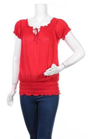 Γυναικεία μπλούζα Suzy Shier, Μέγεθος XS, Χρώμα Κόκκινο, Πολυεστέρας, Τιμή 3,86€
