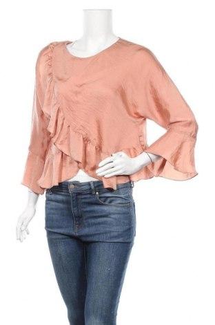 Дамска блуза Topshop, Размер M, Цвят Розов, Полиестер, Цена 8,03лв.