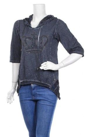 Дамска блуза Tredy, Размер M, Цвят Син, Цена 13,97лв.