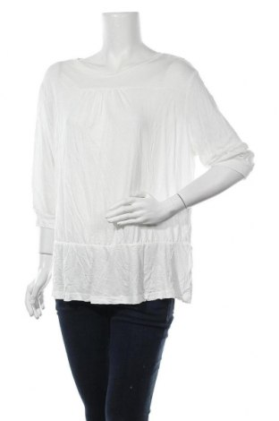 Γυναικεία μπλούζα Vrs Woman, Μέγεθος XL, Χρώμα Λευκό, Βισκόζη, Τιμή 4,09€