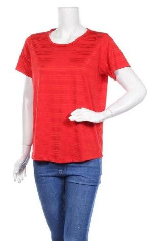 Дамска блуза Vrs Woman, Размер M, Цвят Червен, 70% полиестер, 25% вискоза, 5% еластан, Цена 5,54лв.