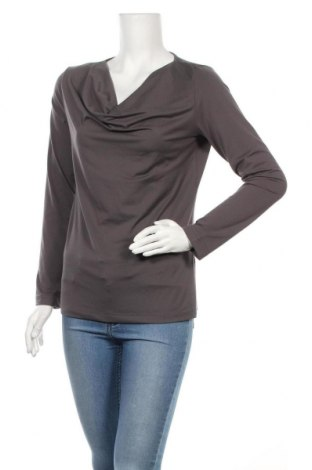 Γυναικεία μπλούζα Yorn, Μέγεθος M, Χρώμα Γκρί, 95% πολυεστέρας, 5% ελαστάνη, Τιμή 4,09€