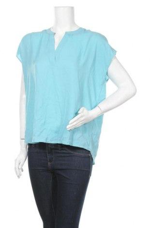Дамска блуза Zavanna, Размер M, Цвят Син, Полиестер, Цена 7,56лв.