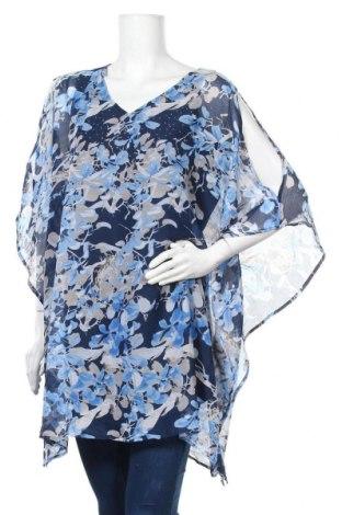 Дамска блуза Zhenzi, Размер M, Цвят Многоцветен, Полиестер, Цена 4,73лв.
