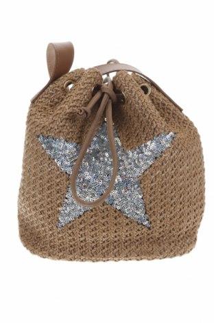 Dámská kabelka , Barva Béžová, Textile , Eko kůže, Cena  424,00Kč