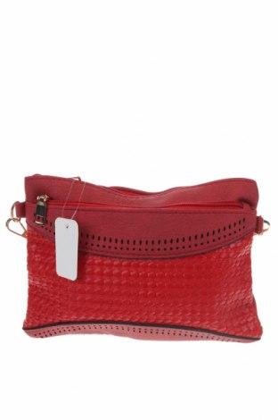 Дамска чанта, Цвят Червен, Еко кожа, Цена 29,40лв.